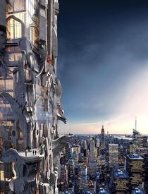 Mark Foster Gage Architects The Khaleesi Residential Skyscraper Proposal for NYC