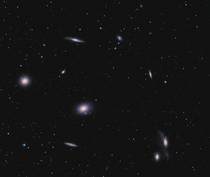 Markarians Chain in the Virgo Coma Cluster