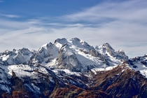 Marmolada Italy the highest mountain of the Dolomites range by Marco Bonomo