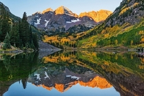 Maroon Bells Reflections