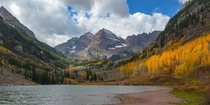 Maroon Lake in Aspen Colorado
