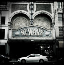Marquee Newark Theater Newark New Jersey  Link to interior pictures in comments