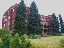 Marquette Michigan Old City Orphanage formerly known as Holy Cross or Holy Family Orphanage by Chad Johnson