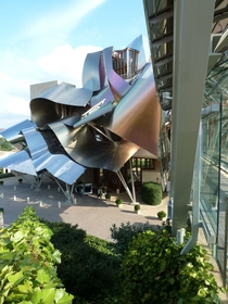 Marqus de Riscal Vineyard and Hotel Spain Frank Gehry