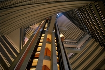 Marriott Marquis in Atlanta by John C Portman