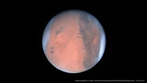 Mars as seen by RosettaOSIRIS on  Feb  reprocessed by me