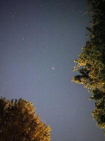 Mars at opposition from my backyard tonight
