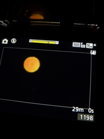 Mars on my low budget digital camera -  Aug