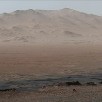 Mars The image was taken by Curiosity Rover in Gale crater