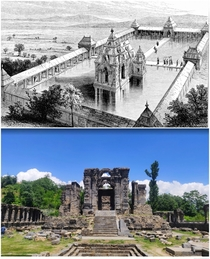 Martand Sun Temple India built by the Karkota Dynasty in the th century AD