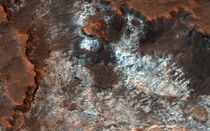 Martian Landscape-HiRise Project
