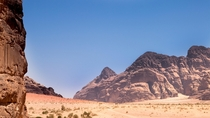Martian scenery at Wadi Rum - Jordan