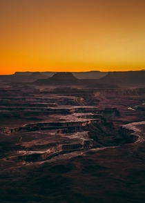 Martian Sunrise Canyonlands NP UT USA
