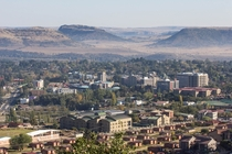 Maseru the capital of Lesotho