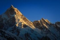 Masherbrum or K  m Karakoram Pakistan  By Zaigham Islam
