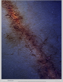 MASS Image of the Galactic Center Milky Way
