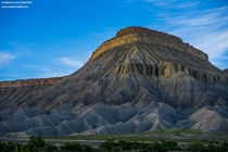 Massive Butte Grand Junction Colorado