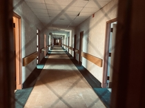 Massive creepy hospital its so weird being in a huge hospital meant for thousands of people by yourself Gives off a weird vibe Video link in the comments