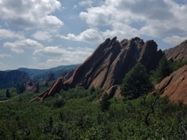 Massive Sandstone Roxborough State Park Littleton CO