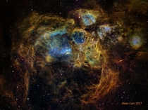 Massive Star Forming Region In The Lobster Nebula   Light Years Away In Scorpius
