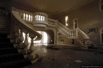 Master Stair in Abandoned Mansion