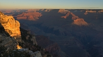 Mather Point at sunrise Grand Canyon National Park