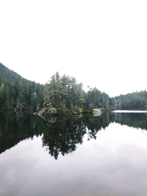 Matheson Lake in Metchosin BC Canada