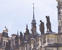 Matielli-Statues on the Dresden Cathedral