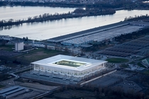 Matmut Atlantique Stadium Bordeaux France designed by Herzog amp de Meuron in