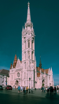 Matthias-church Budapest built by the pople of the first king of Hungary Saint Stephan in