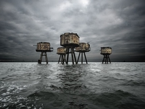 Maunsell Sea amp Air Forts in UK