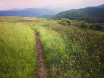 Max Patch Smoky Mountains North Carolina