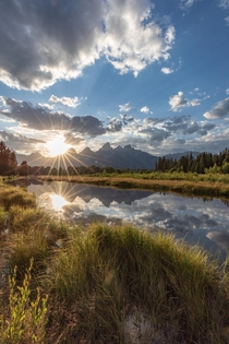 May the warm sun keep shining upon all of us in these darker days - Grand Teton National Park -  - IG travlonghorns