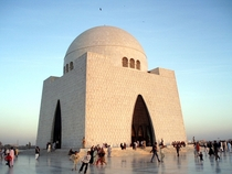 Mazar-e-Quaid in Karachi Pakistan