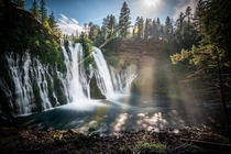 McArthur-Burney Falls  check out my work IG- justingoodfun