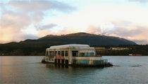 Mcbarge McDonalds Floating Restaurant from Canada