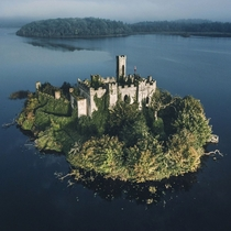 McDermotts Castle Ireland Beautifully taken over by nature