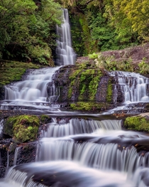McLean Falls New Zealand