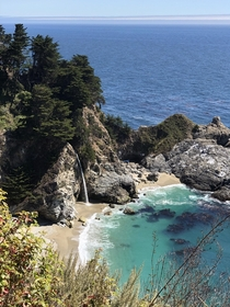 McWay Falls Big Sur on Aug