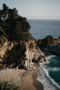 McWay Falls in Big Sur CA  IG dustinrossiter
