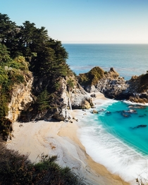 McWay Falls in Big Sur California