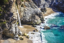 McWay Falls in Big Sur California OC