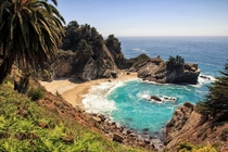 McWay Falls  Julia Pfeiffer Burns SP Big Sur CA by Matthias MH Huber
