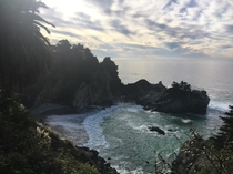 McWay Falls Julia Pfeiffer Burns State Park Big Sur California Highway  crossed off bucket list