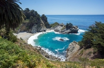McWay Falls Julia Pfeiffer Burns State Park Monterey County CA