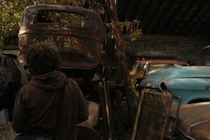 Me and my friend went to a car graveyard in Sheboygan WI