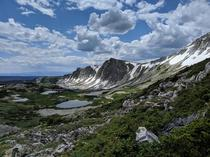 Medicine Bow Peak in Medicine Bow National Forest Wyoming last week Took my breath away Literally because of the altitude