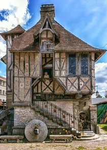Medieval home built in  located in the Village of Argentan France