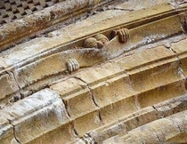 Medieval humor Abbey of Sainte Foy Conques France c How great this is