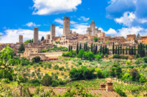 Medieval skyscrapers of san gimignano